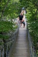 05 Pat and Henry on Suspension Bridge