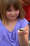 Child holding hummer