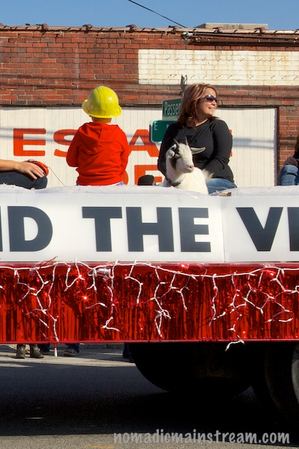 The Grand Marshall Float