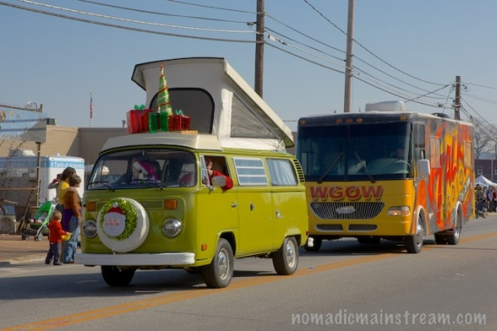 The pop-up top VW Bus