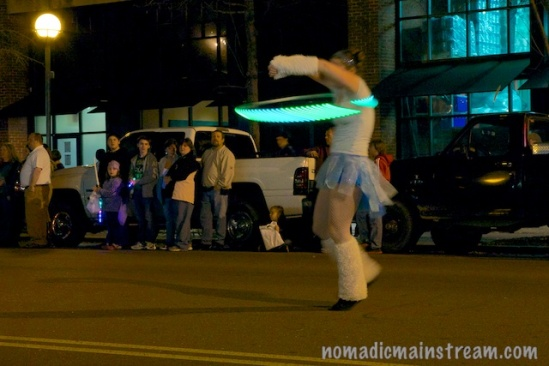 The hula hoop never seemed so exciting before.