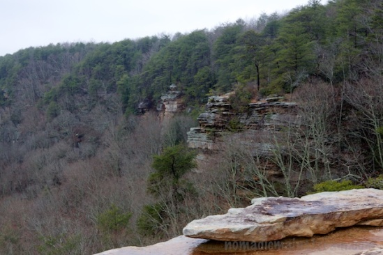The mostly limestone geography creates spectacular outcroppings