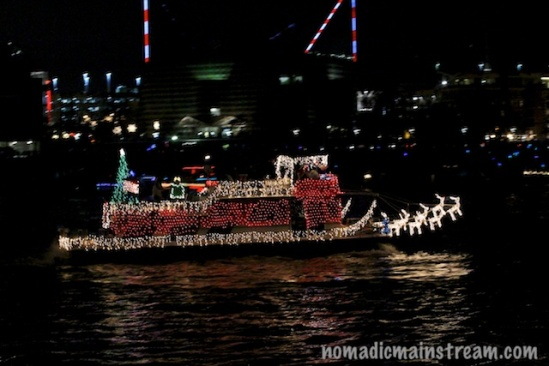 I think this boat's decor was a really crowd pleaser for anyone looking for tradition
