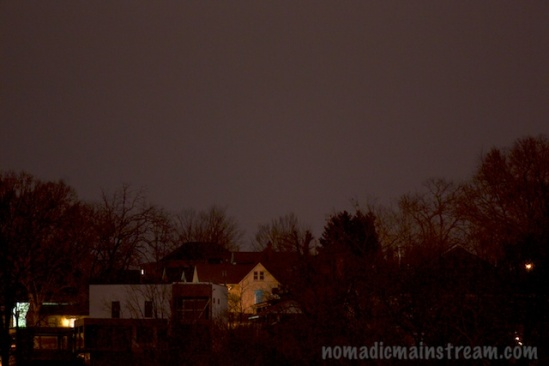 I really wanted the white house to be the moon, but no matter how many times I shot it, it was still a house