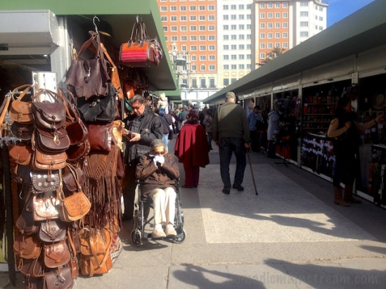 Entering the Sunday Market