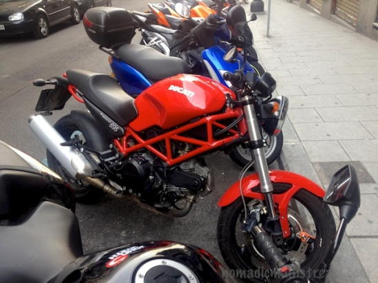 Couldn't help but drool a little over the Ducati