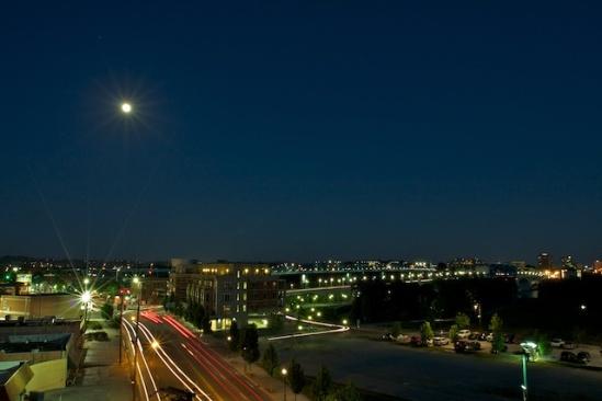 The moon always makes me feel adventurous