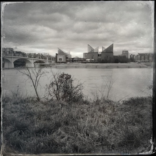 I like the tintype effect on the clouds in particular
