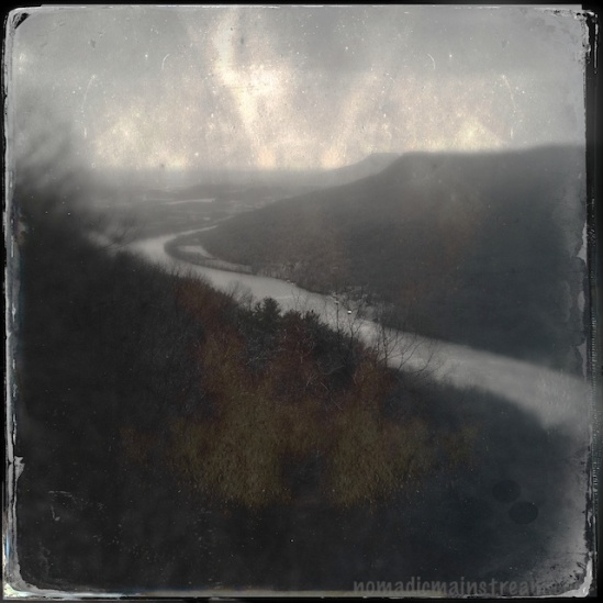 Revisiting Signal Point during the worst time of day from a lighting perspective called for Hipstamatic's Tintype kit