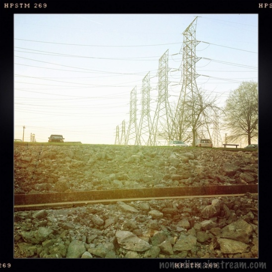 Hipstamatic makes high tension wires look charming