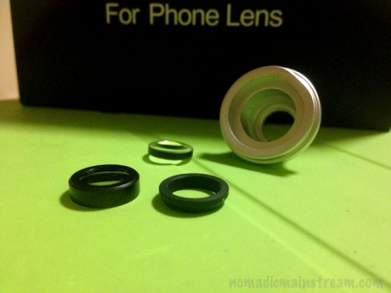 The pieces of my broken lens