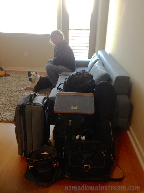 Exactly how much stuff does it take for a road trip when I decide to take my DSLR?