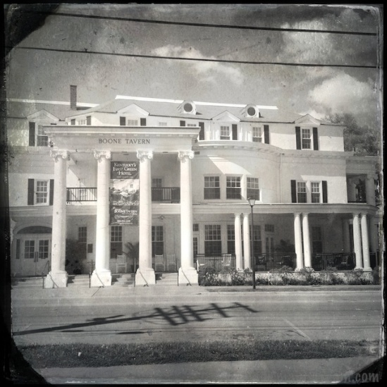 Boone Tavern Histamaticized with Tintype effects