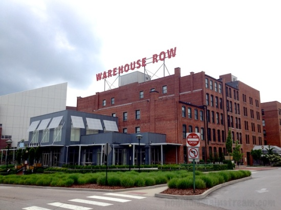 A brighter, more modern look at the Public House side of Warehouse Row