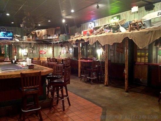 The bar has a nautical theme