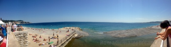 Fake inlet (also created by shooting panoramic with default iPhone camera app)