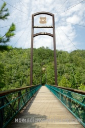 Bridge over Ocoee Whitewater Center