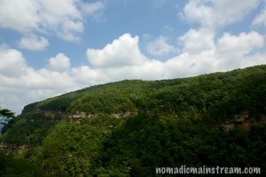 Clouds over Cloudland Canyon