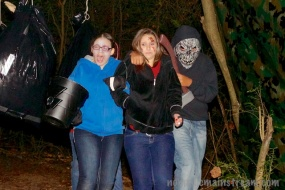 Even some of our actors aren't beyond getting scared on the trail
