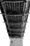 The underside of the Walnut Street Bridge