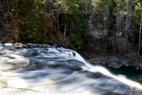 The top of Cane Creek Cascades