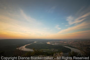 An even longer exposure of Moccasin Bend.